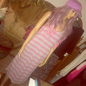 Dresses & Skirts - Ladies L sleeveless T-shirt maxi dress NWOT